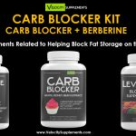 Carb Blocker Kit – Supplements for Blocking Carb Absorption – Great for KETO Diets