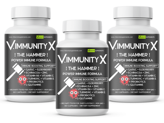 Buy V.IMMUNEX Super Immune Booster & Get Elderberry Free