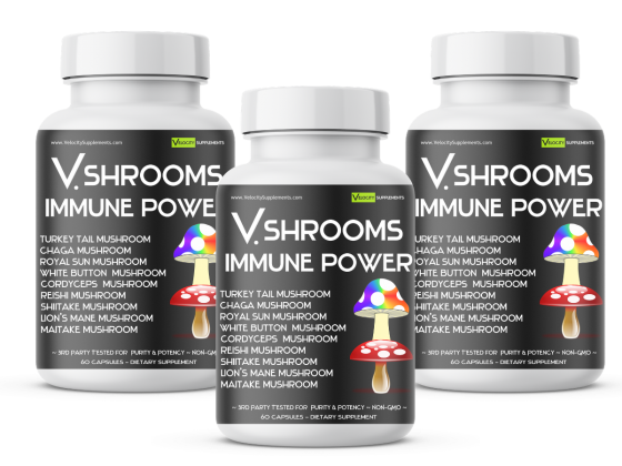 Buy One V.IMMUNEX Get a V.SHROOMS Free