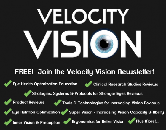 Velocity Vision Eye Supplement Formula